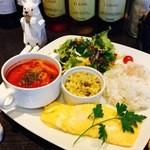 Cafe de 武 - マンスリーメニュー スペシャルワンプレート