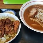 悟空 - 料理写真:ソースカツ丼セット