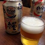 うちなーすばヤージ小 - オジー自慢のオリオンビール♪