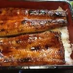 うなぎの緒里 - 2016年5月中旬  得うな重定食の鰻