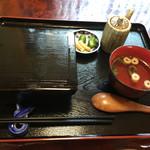 うなぎの緒里 - 2016年5月中旬  得うな重定食 ¥2.400