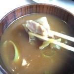 50976209 - カレーつけ汁の肉(2016年5月)
