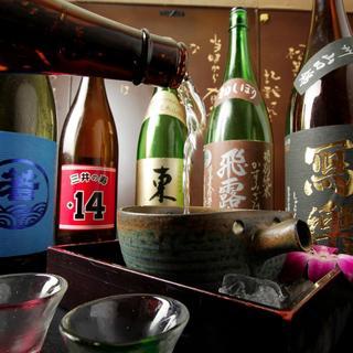 四季折々、津々浦々の厳選日本酒