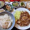 Takadayashiyokudou - 料理写真:生姜焼き定食(大盛り)(2016年5月)