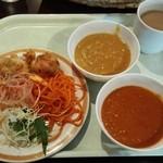 ウェルカム カトマンズ アジアキッチン&バー - ある日のランチバイキング