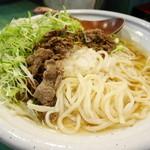 京うどん 葵 - 自家製の讃岐式手打ちうどん(細麺)