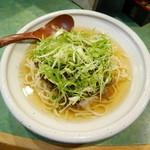 京うどん 葵 - 冷し肉ねぎうどん¥900