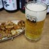 はまらん家 - 料理写真:気仙沼ホルモン&生ビール~☆
