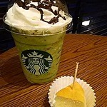 スターバックスコーヒー - 抹茶フラペチーノ チョコチップ チョコソース追加