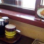 カフェレストラン Qナイン - 2016年5月 卓上