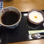 ミルクキッチン 燦燦 - コーヒーと牛乳プリン