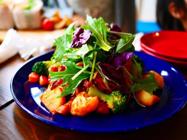 軽井沢ベジビエ - 彩り野菜のトマトパスタ 1,350円