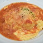 オムライスの店 Tanpopo - 三種チーズのイタリアンオムライス