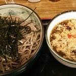 ボンサイ - 鶏つけ蕎麦大盛 780円