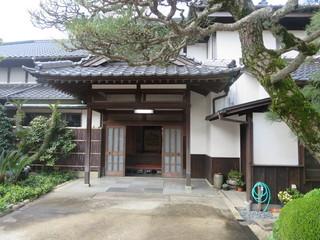 料亭 岡崎 - 入口