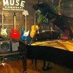MUSIC PUB MUSE - グランドピアノと各種楽器あり