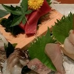 魚がし日本一 - お刺身(2700円)