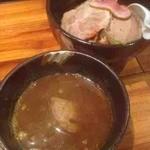 魔乃巣 - カレーつけ麺+チャーシュー
