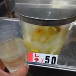 鼻知場商店 - ドリンク写真:レモン50円(税込) ※2016年5月