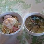 チョムパイ - 2015/06/04 12:40訪問:サラダ&スープ
