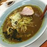 味の大王 東室蘭西口店 - カレーラーメン(^∇^)♪