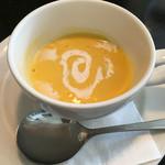 ビストロ・ポトフ - カボチャの冷製スープ