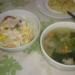 チョムパイ - 2015/10/08 20:20訪問:サラダ&スープ