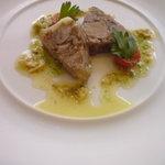 レストラン・ブルディガラ - 前菜の豚肉のテリーヌ