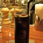 グリル アンドウ - 食後のアイスコーヒー