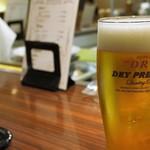 グリル アンドウ - 生ビール