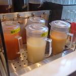 彩 - ドリンクバーの1部ジュース