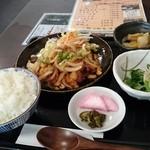 みょうが - 本日の気替定食(鶏肉カシュ-ナッツ炒め) 500円