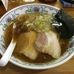 恵比寿羅亜麺 - 料理写真:「えびすラーメン」590円