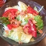 ロシータ - ノビオスセットのサラダ