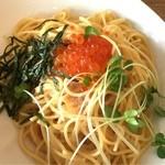 プロント - 北海道産イクラとタラコのスパゲティ 税込790円