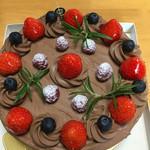 51006441 - チョコレートケーキ ホール