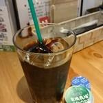 GROUND DINER - 有機コーヒー350円(2016.4)