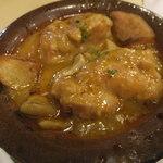 51007167 - 若鶏とポルチーニ茸のエスパニョーラソース煮