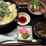 樞 - 特選親子丼セット1300円