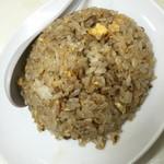 中華料理 新三陽 - 半炒飯(麺類とセットで200円)2016年4月