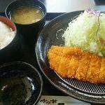 51008595 - ランチ定食(牛カツ) 830円(税込) 当然、ご飯は大盛りです^^