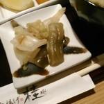 串揚げ 桂 - [料理] お新香 アップ♪w