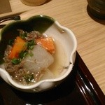 串揚げ 桂 - [料理] 小鉢『牛スジ大根』アップ♪w