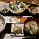 串揚げ 桂 - [料理]『お食事膳』全景♪w
