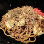 お好み焼 桃谷てんぐ - 製麺所で練られたこだわり麺を使用した、本格焼きそば★