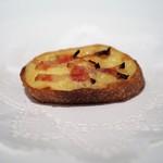 ラシェット・ブランシュ - ベーコンとチーズのトースト