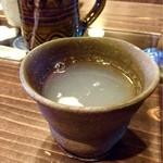 たかや - そば湯のカップが各ヶ異なります