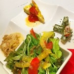 バルde Ricotta - ランチの前菜