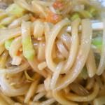 三ちゃん - 焼きそばの麺 2016.3