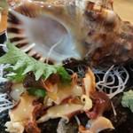 大春 - ほら貝造り